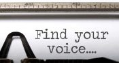 Blogging for Business:  Finding my Voice